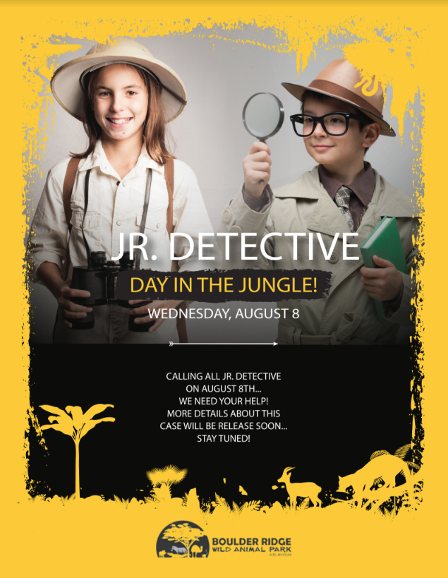 Jr Detective Day