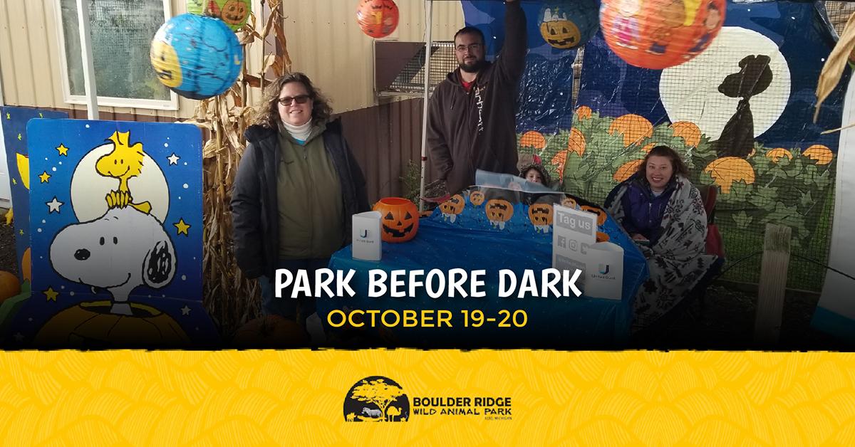 Boulder Ridge Park Before Dark